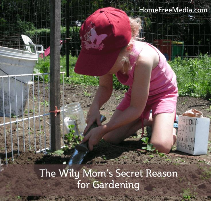 reason for gardening