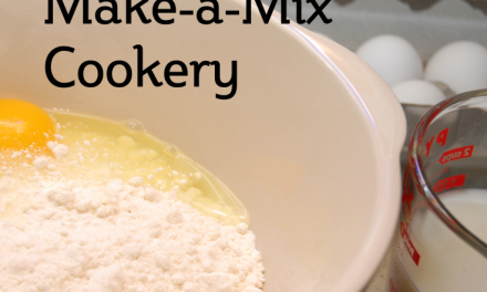 Make-a-Mix Cookery
