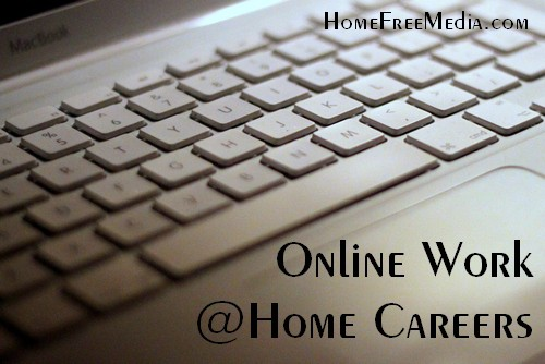 Online Work at Home Careers