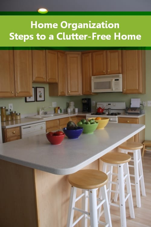 Home Organization: Easy Steps to a Clutter Free Home