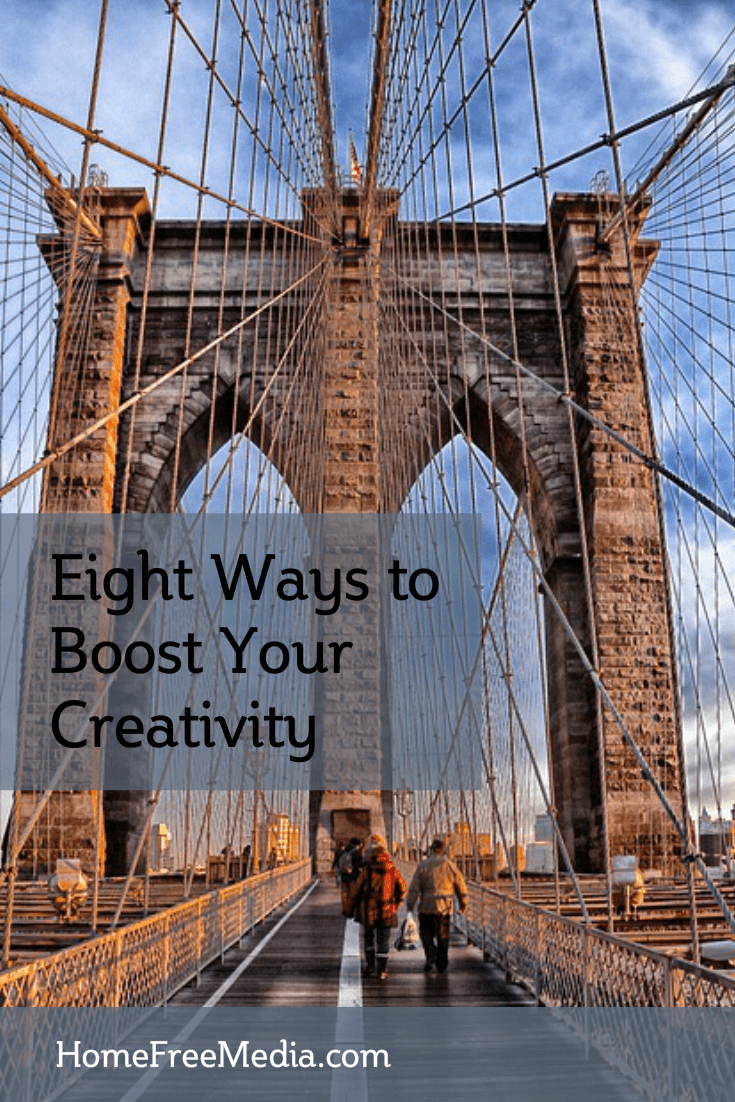 Eight Ways to Boost Your Creativity