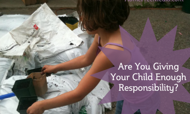 Are You Giving Your Child Enough Responsibility?