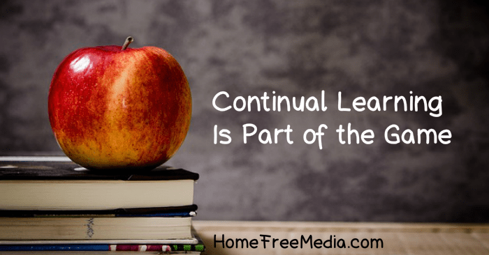 Continual Learning Is Part of the Game