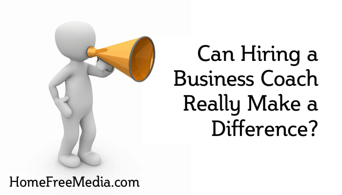 Can Hiring a Business Coach Really Make a Difference