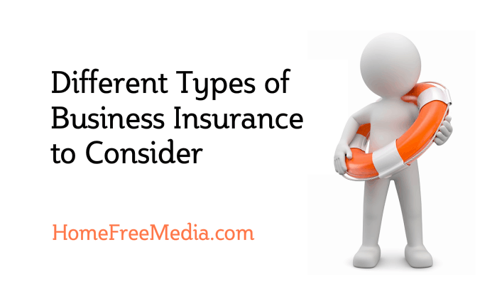 Different Types of Business Insurance to Consider