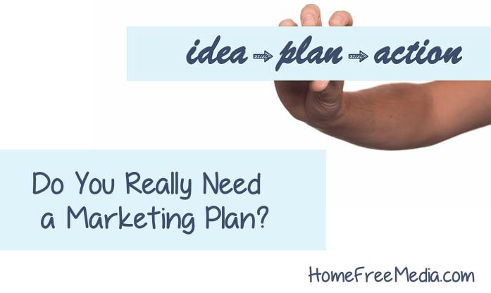 Need a marketing plan