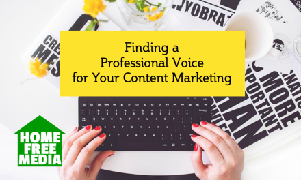Finding a Professional Voice for Your Content Marketing