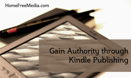 Gain Authority through Kindle Publishing