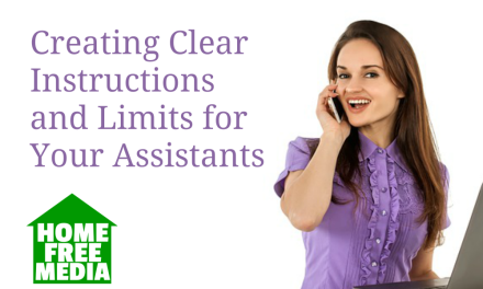 Creating Clear Instructions and Limits for Your Assistants