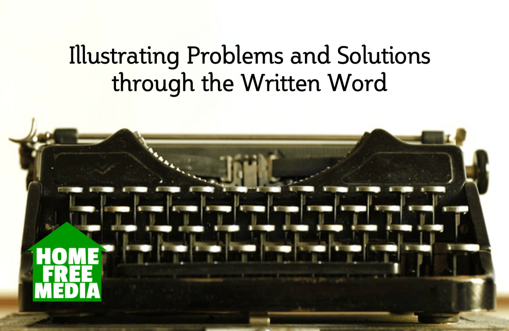 Illustrating Problems and Solutions through the Written Word