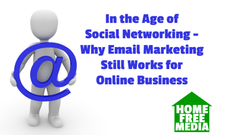 In the Age of Social Networking – Why Email Marketing Still Works for Online Business