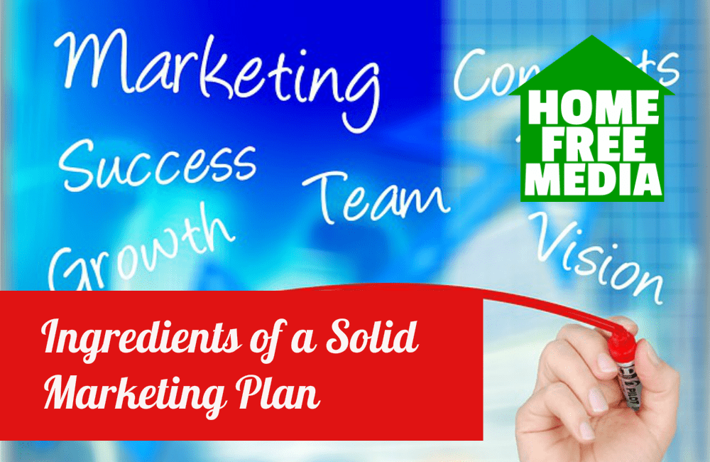 Ingredients of a Solid Marketing Plan