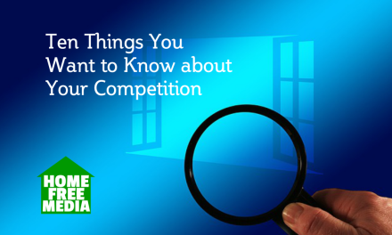 Ten Things You Want to Know about Your Competition