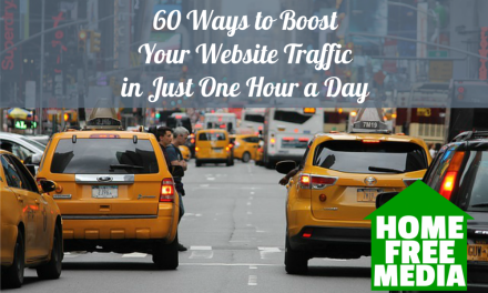 60 Ways to Boost your Website Traffic in Just One Hour a Day