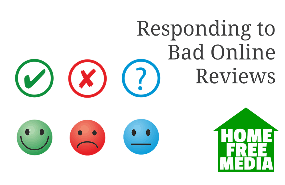 Responding to Bad Online Reviews