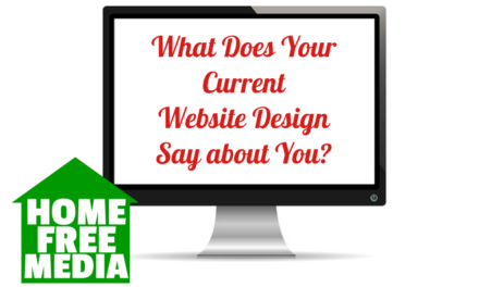 What Does Your Current Website Design Say about You?
