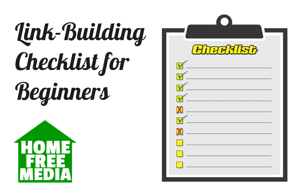 Link-Building Checklist for Beginners