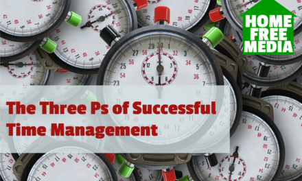 The Three Ps of Successful Time Management