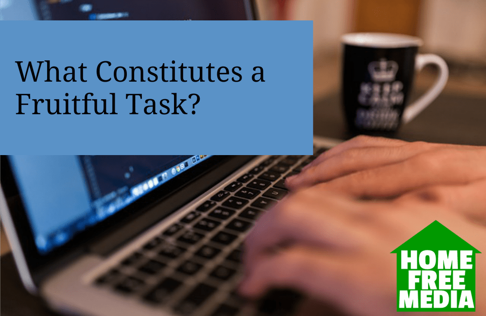 What Constitutes a Fruitful Task