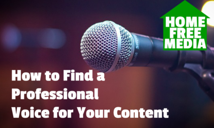 How to Find a Professional Voice for Your Content