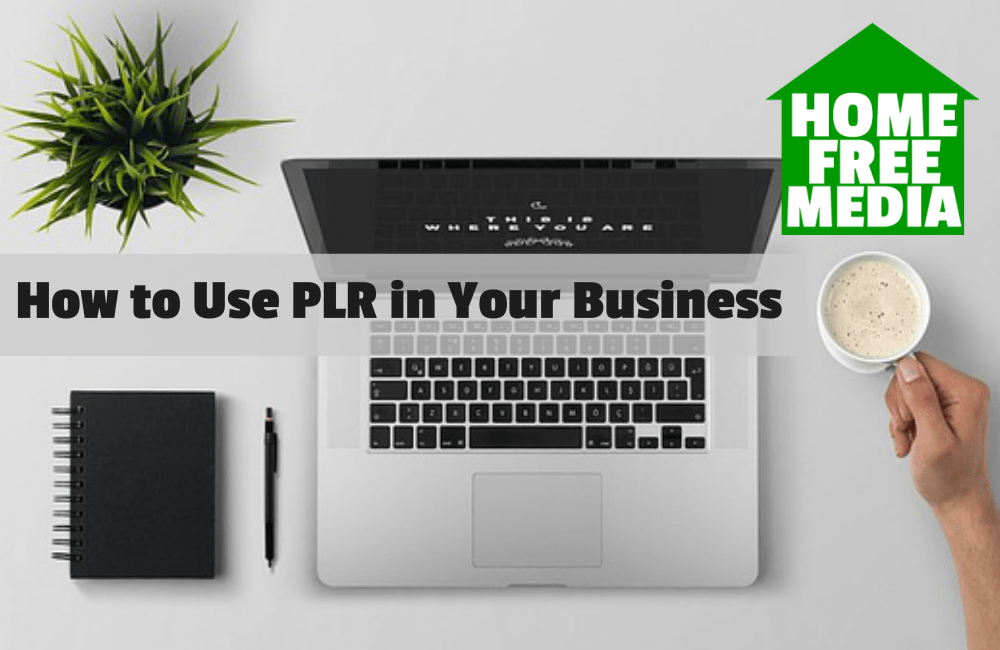 How to Use PLR in Your Business