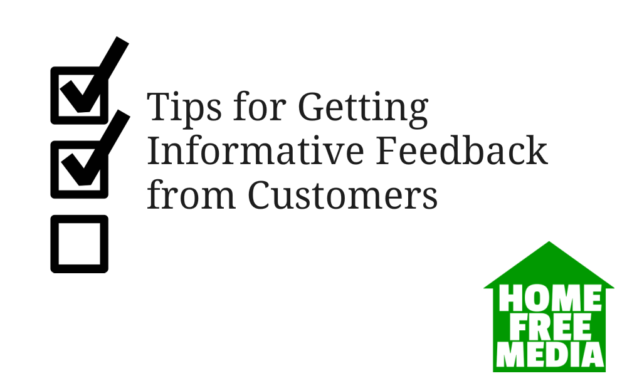 Tips for Getting Informative Feedback from Customers
