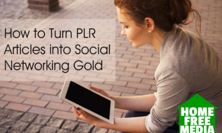 How to Turn PLR Articles into Social Networking Gold