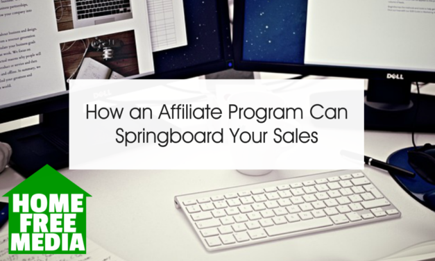How an Affiliate Program Can Springboard Your Sales