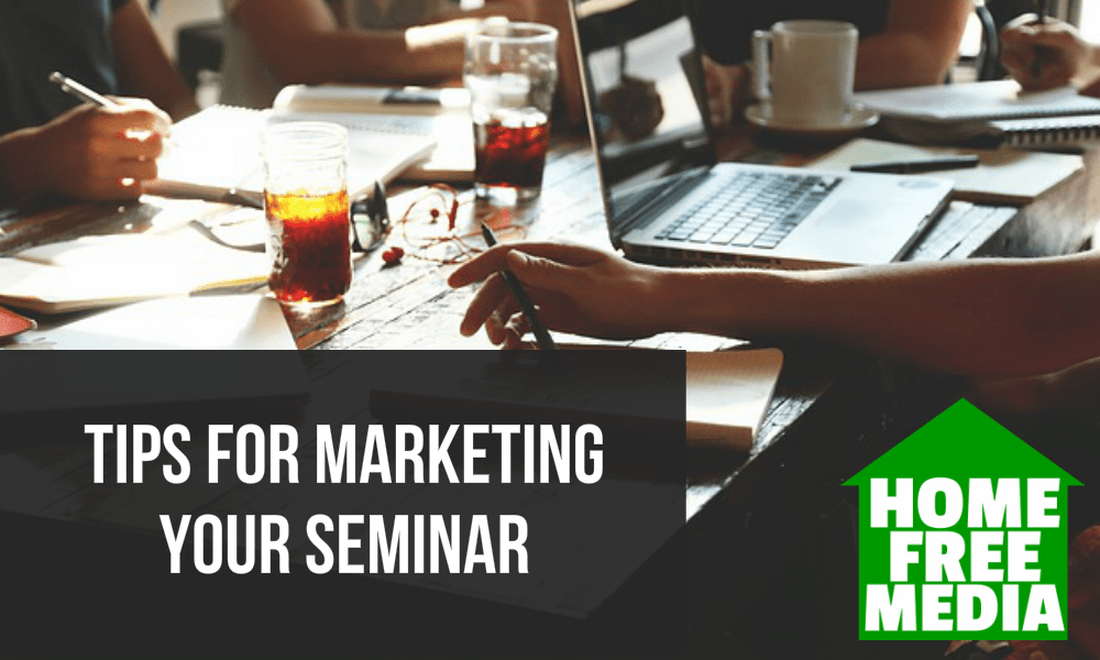 Tips for Marketing Your Seminar