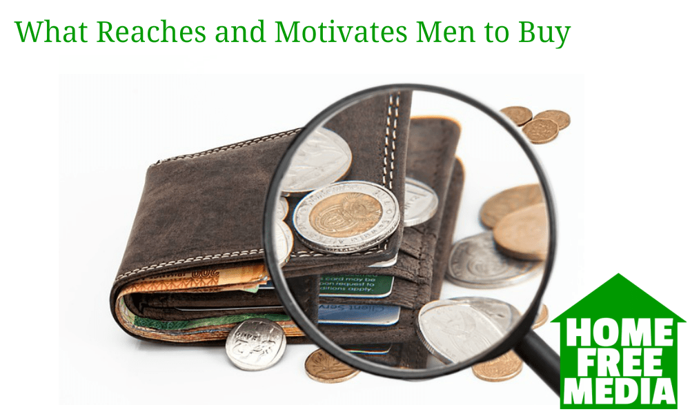 What Reaches and Motivates Men to Buy