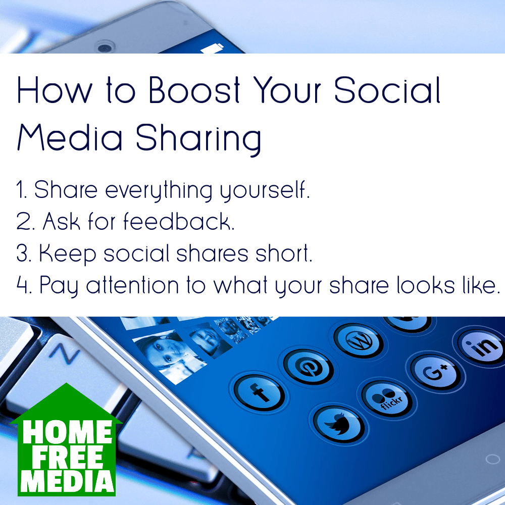 How to Boost Your Social Sharing