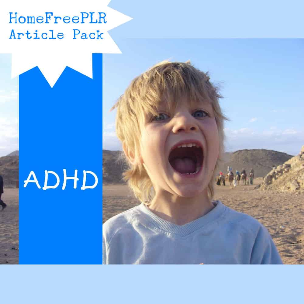 ADHD plr