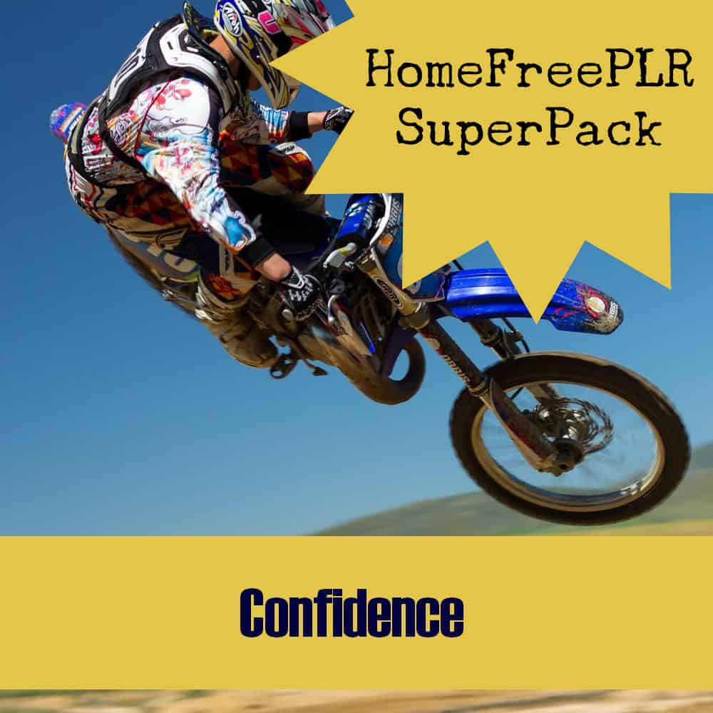confidence plr superpack