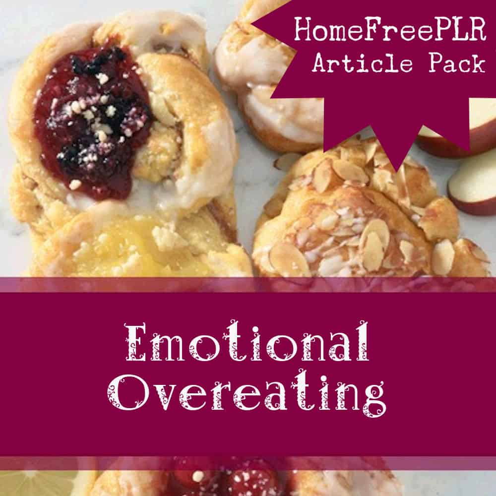 emotional overeating plr