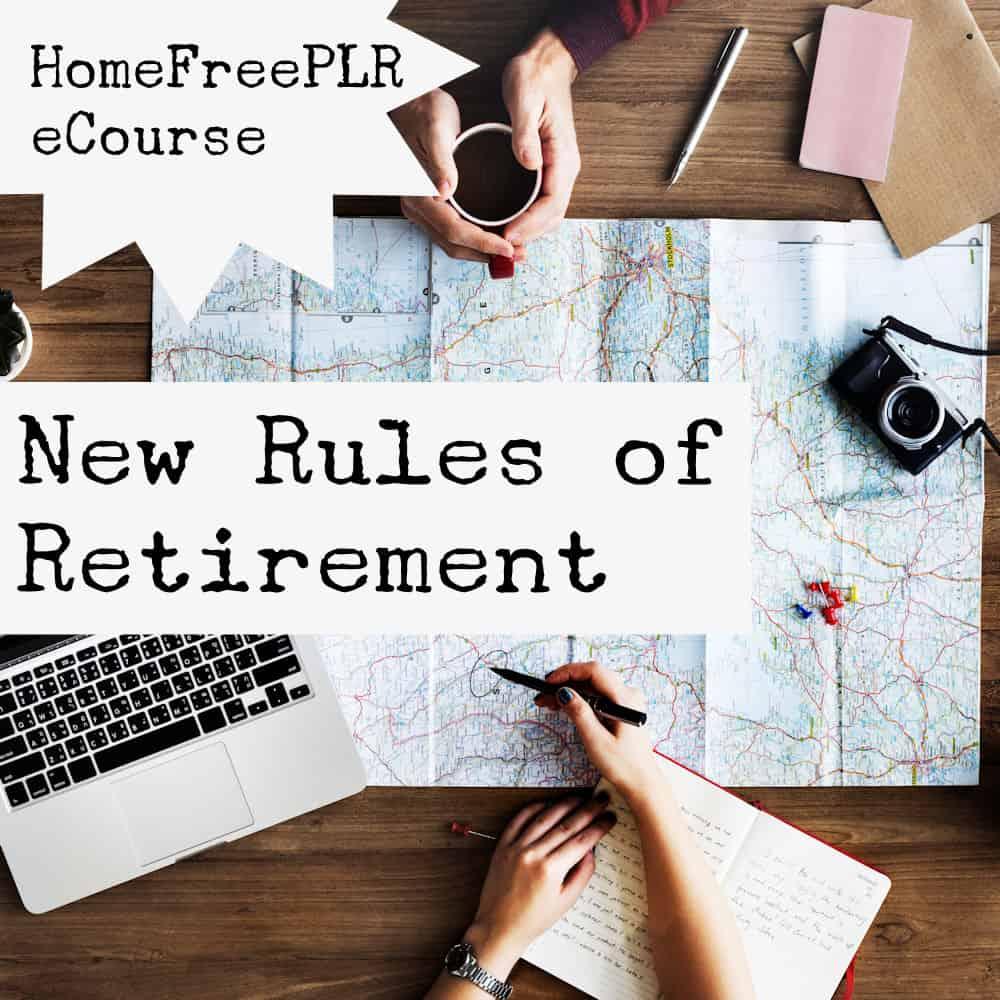 retirement plr ecourse