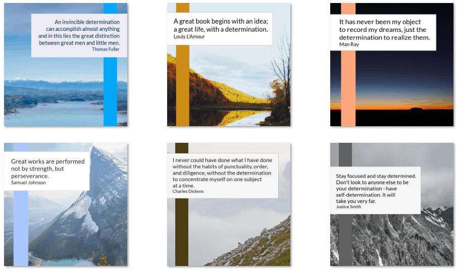 inspirational graphics