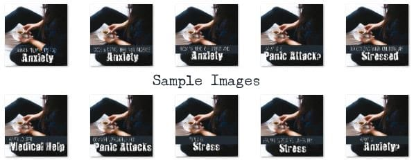 Anxiety PLR Sample Images