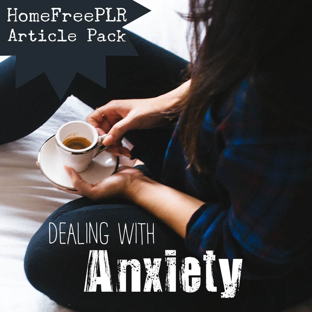 Anxiety PLR Article Pack