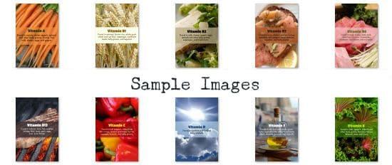 Vitamin ABCs PLR Images