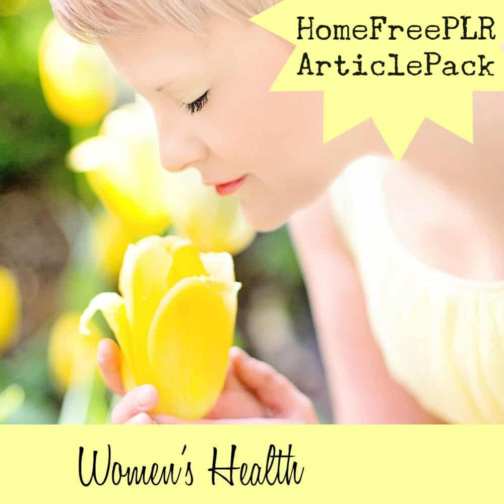 Womens-Health-PLR Article Pack