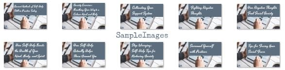 self help plr sample headers