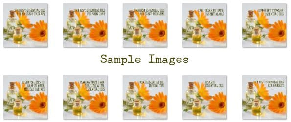 Sample Images Essential Oil PLR