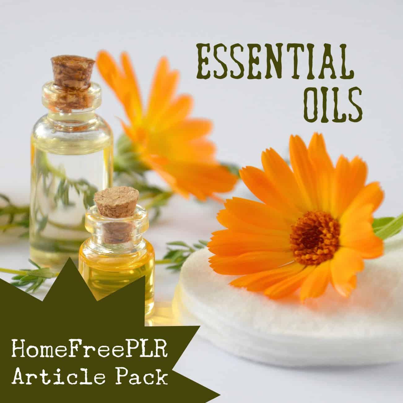 Essential Oils PLR Article Pack