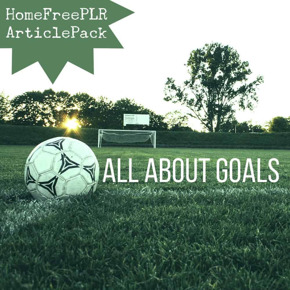 Goals PLR Articles
