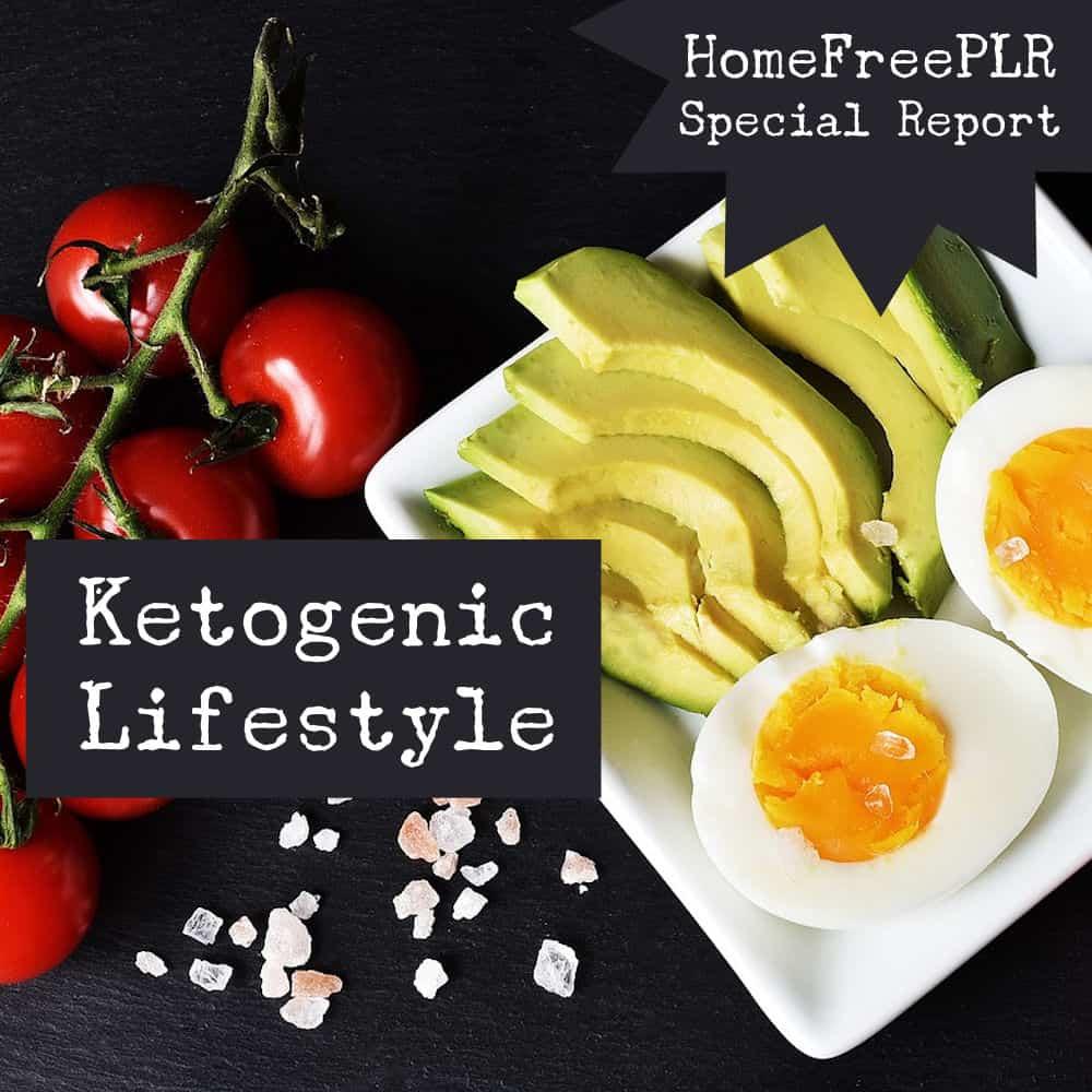 Ketogenic Lifestyle PLR
