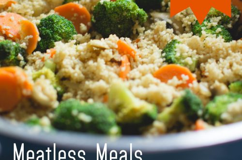 Meatless Meals PLR Article Pack