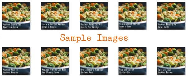 Meatless Meals PLR Images
