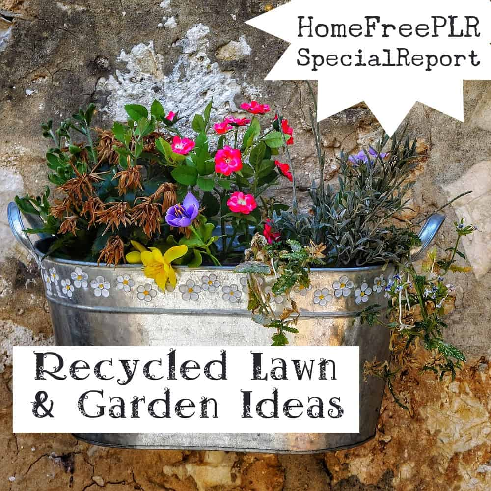 Recycled Lawn and Garden Ideas