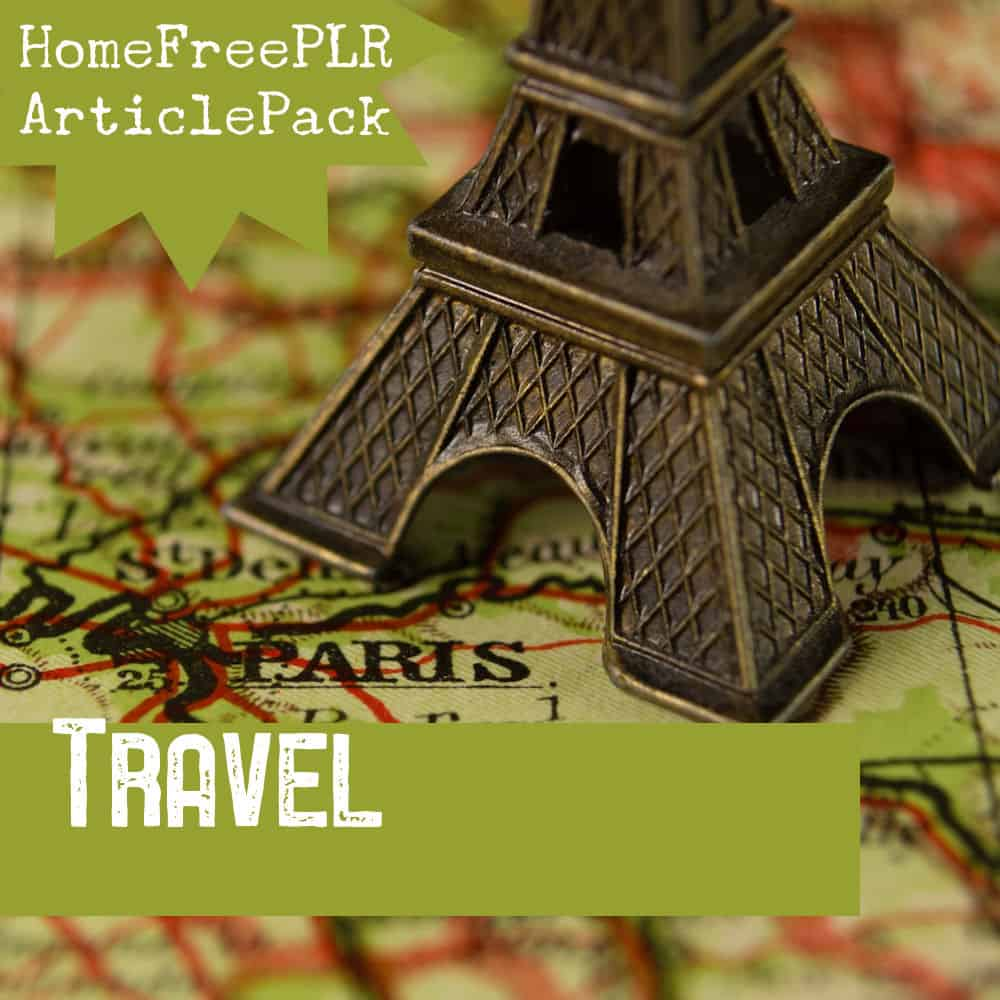 Travel PLR Article Pack