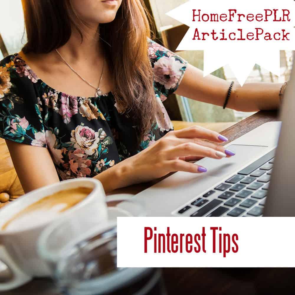 Pinterest Tips PLR